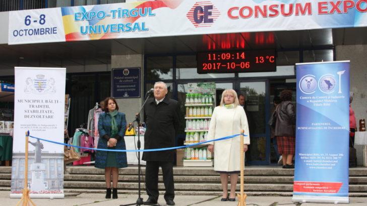 Expo-tîrgul universal tradiţional de toamnă CONSUM EXPO de la Bălţi ajuns la cea dea XXIII-a ediţie