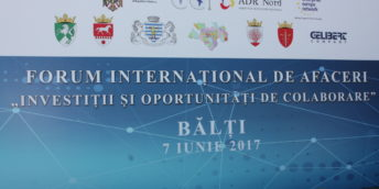 "In mun. Balti it was developed for the first time, the International Business Forum ""Investments and Collaboration Opportunities"", to wich participatad aproximativ 300 economic agents"