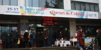 """Expo-tîrgul  universal tradiţional de iarnă """"DARURI DE CRĂCIUN 2017"""" –  prijej de sărbătoare la Bălţi"""