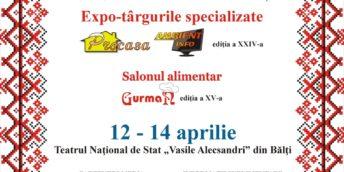 """Expo-târgurile specializate """"Procasa"""", """"Ambient Info"""" şi salonul alimentar """"Gurman"""","""