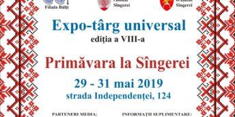 "Expo-târg universal ""Primăvara la Sîngerei"" la a VIII-a ediţie"