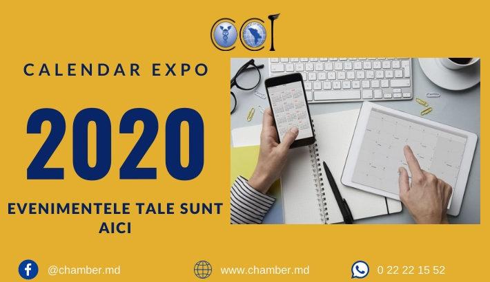 Calendarul expozițional 2020