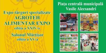 Expo-târgurile specializate Agroteh, Alimentar Expo, şi salonul Mărţişor