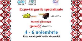 Expo – târgurile specializate PROCASA, AMBIENT-INFO, ediţia a XXV-a şi salonul alimentar Gurman